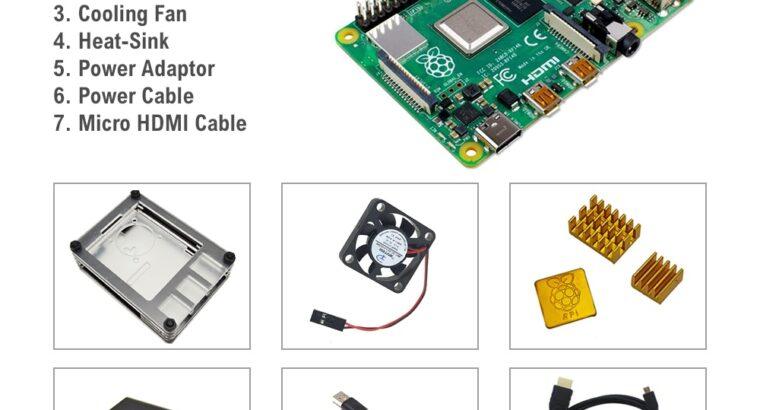 Raspberry Pi 4 7 in 1 kit