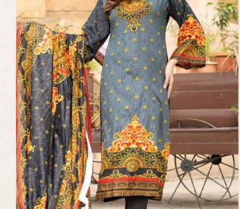 lawn dress material… lawn dupatta.  Aed 80