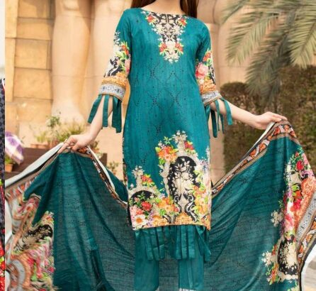cotton dress material..Aed 75