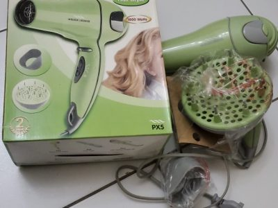 hair dryer and blower with massager