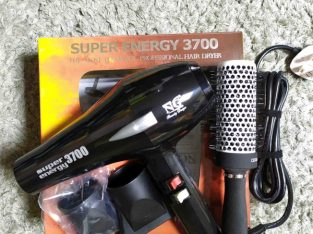 Hair Dryer + Ceramic Brush Brand New
