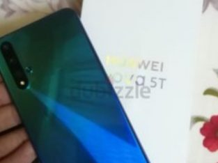 Huawei nova 5t 8gb ram 128gb