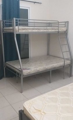 Brand new bunk bed down duble up single with 2 metres PM whatsapp