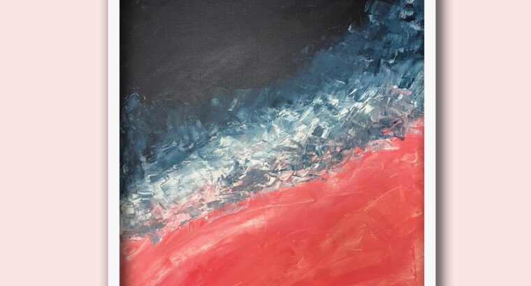 Ocean Abstract Art Painting