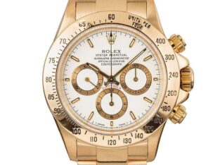 Rolex Daytona Zenith White Index Dial 40MM Watch 1