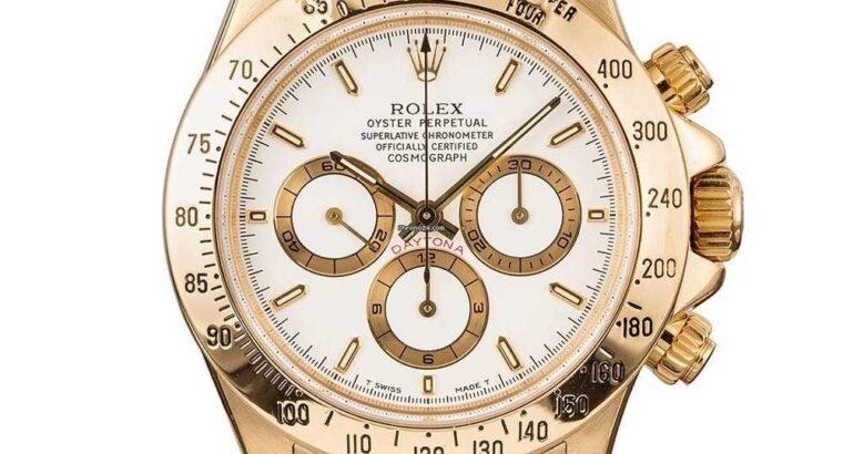 Rolex Daytona Zenith White Index Dial 40MM Watch 1