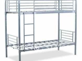 brand new bunk bed silvre hevy duty PM whtsap 0559634464and call same number