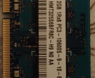 Laptop DDR3 2gb Ram for sale