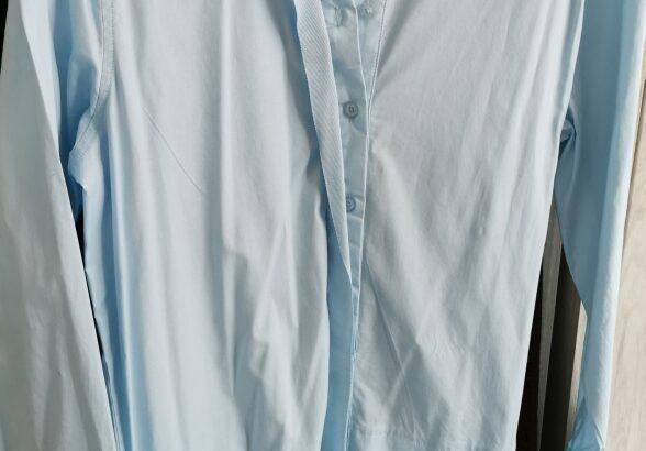 Sky blue long shirt Size Meduim