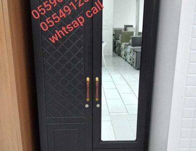 new model cabnet with big mirror 2 dor PM whtsap 0559634464and call same number black clr