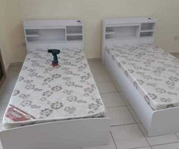 brand new single bed wood made in Thailand PM whtsap 0559634464and call same number