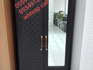 Brand new cabnet wood 2dor new model with merr pm whtsap 0559634464and call same number