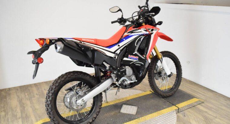 2017 Honda crf 250L available