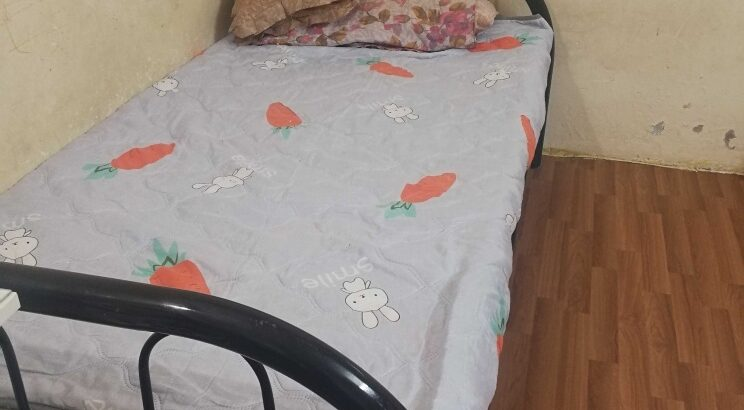 Bed and bed cot