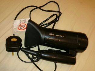 original Branu satin hair dryer