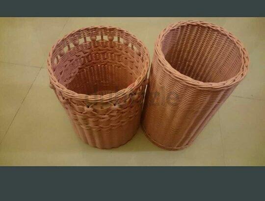 2in1 basket dustbin