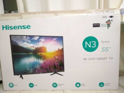 55-Inch 4K UHD Smart LED TV 55N3000UW Black