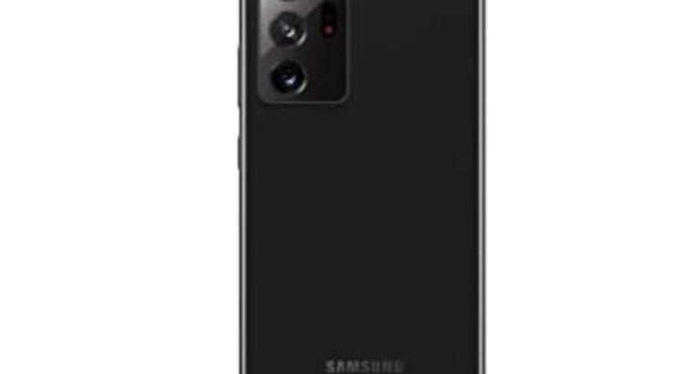 Galaxy note 20 Ultra 5G black