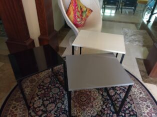 Set of Side Tables (3pcs)