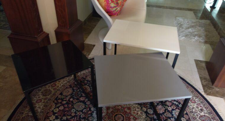 Set of Side Tables (3pcs)