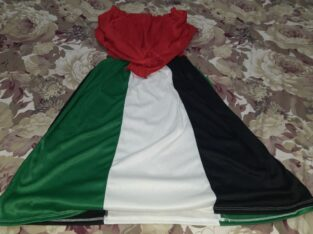UAE Flag Design Dress