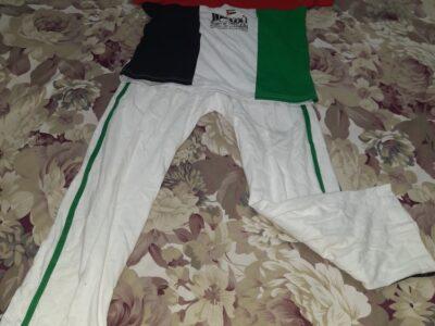 U.A.E flag t-shirt and trouser
