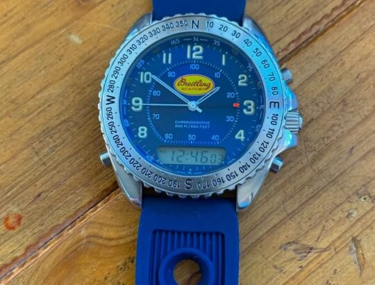 Breitling watch vintage