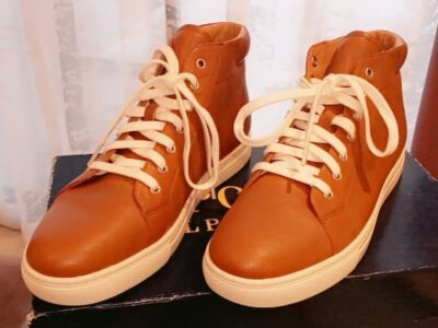 Polo Ralph Lauren, Brown dress sneakers athletic