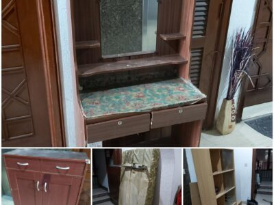 4 Furniture items for takeaway freely