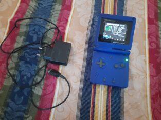 Game Boy station light with charger