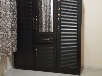 3 Door Wooden Cupboard