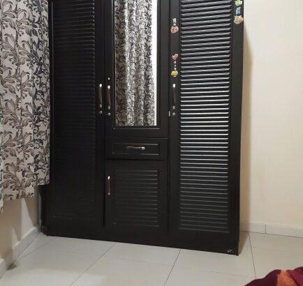 3 Door Wooden Cupboard