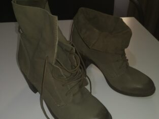 Steve Maden short leather boots