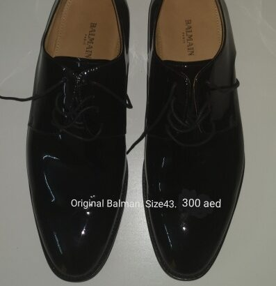 Balman original shoes. Worn once. Size 43