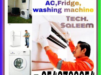 AC Repairing and washing, Call 0543788654
