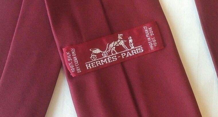 New Hermes Tie