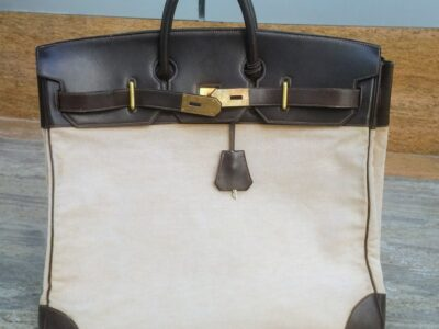 Hermes Rare Vintage Travel Bag (