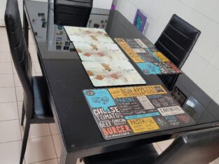 6 chairs dining table for sale