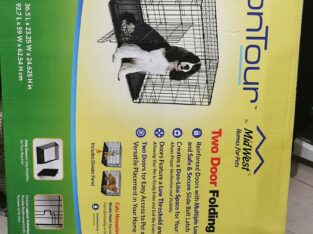 Folding Crate for Adult Dog