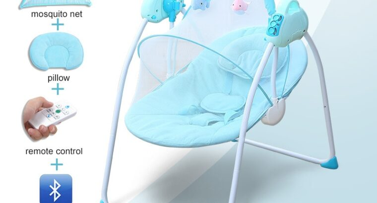 Baby Electric Swing with Bluetooth sound music