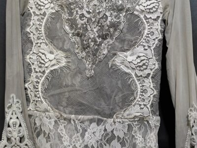 Net laced top