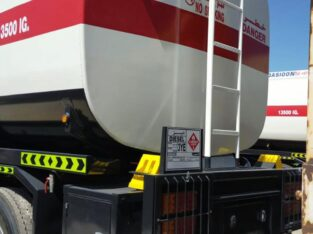 Brand New Fuel Tanker Is For Sale