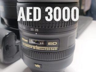Nikkor 28-300mm f/3.5-5.6g ed vr with lens filter