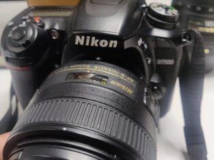 Nikon D7500 DSLR – only body