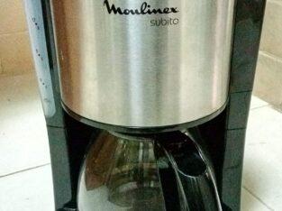 Moulinex Subito Coffee Maker – Black/Silve